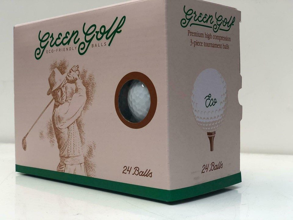 New Eco Friendly Golf Balls by Green Golf